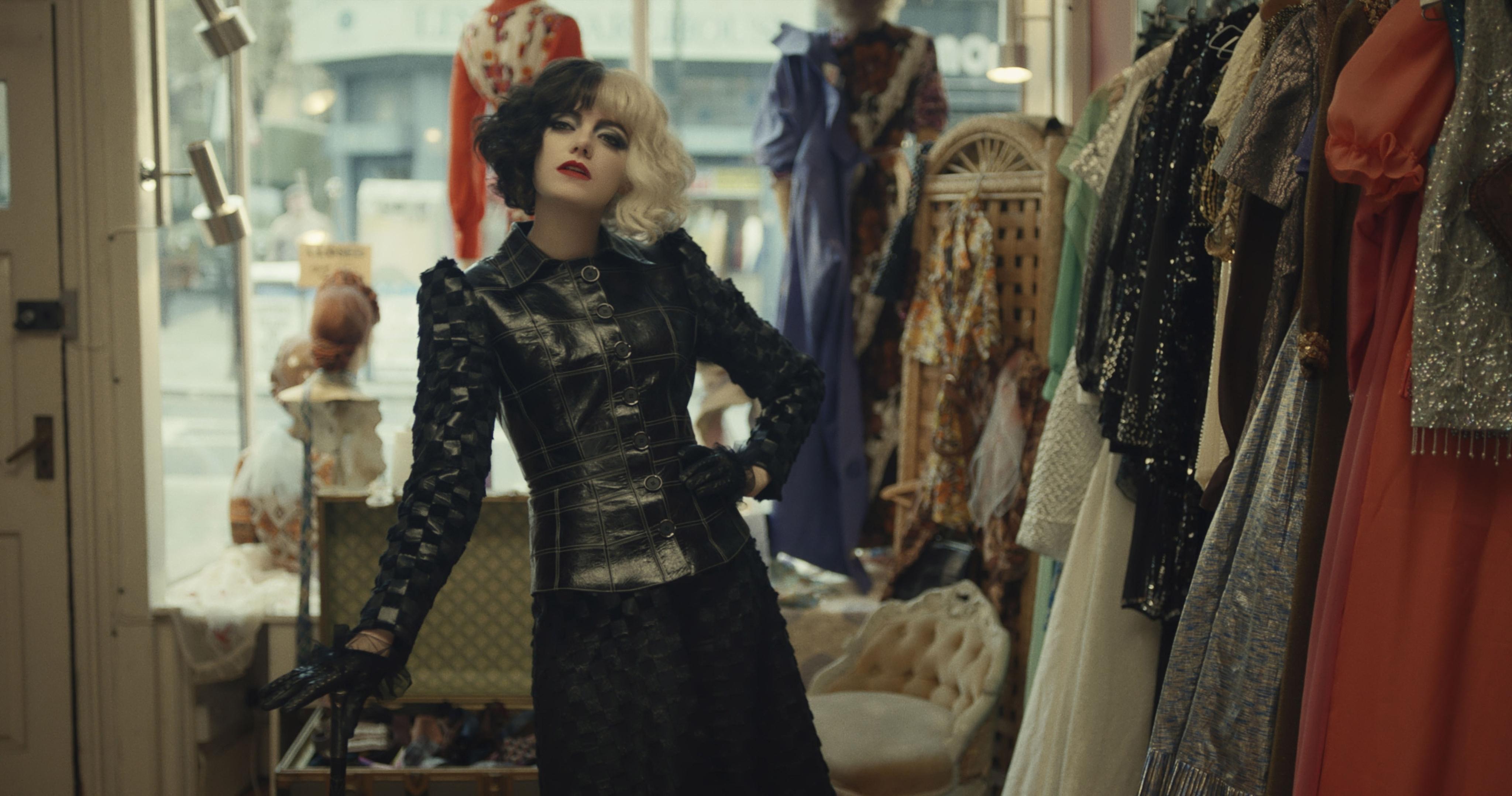 Emma Stone stars as Cruella de Vil in Disney's 'Cruella'