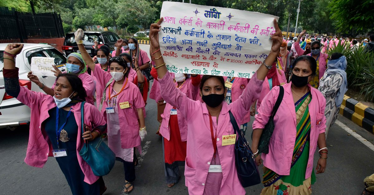 India's Community Health Workers Say Government Is Failing to Protect Them From COVID-19