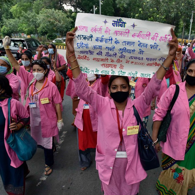 India's Health Workers Say Gov. Is Failing Them