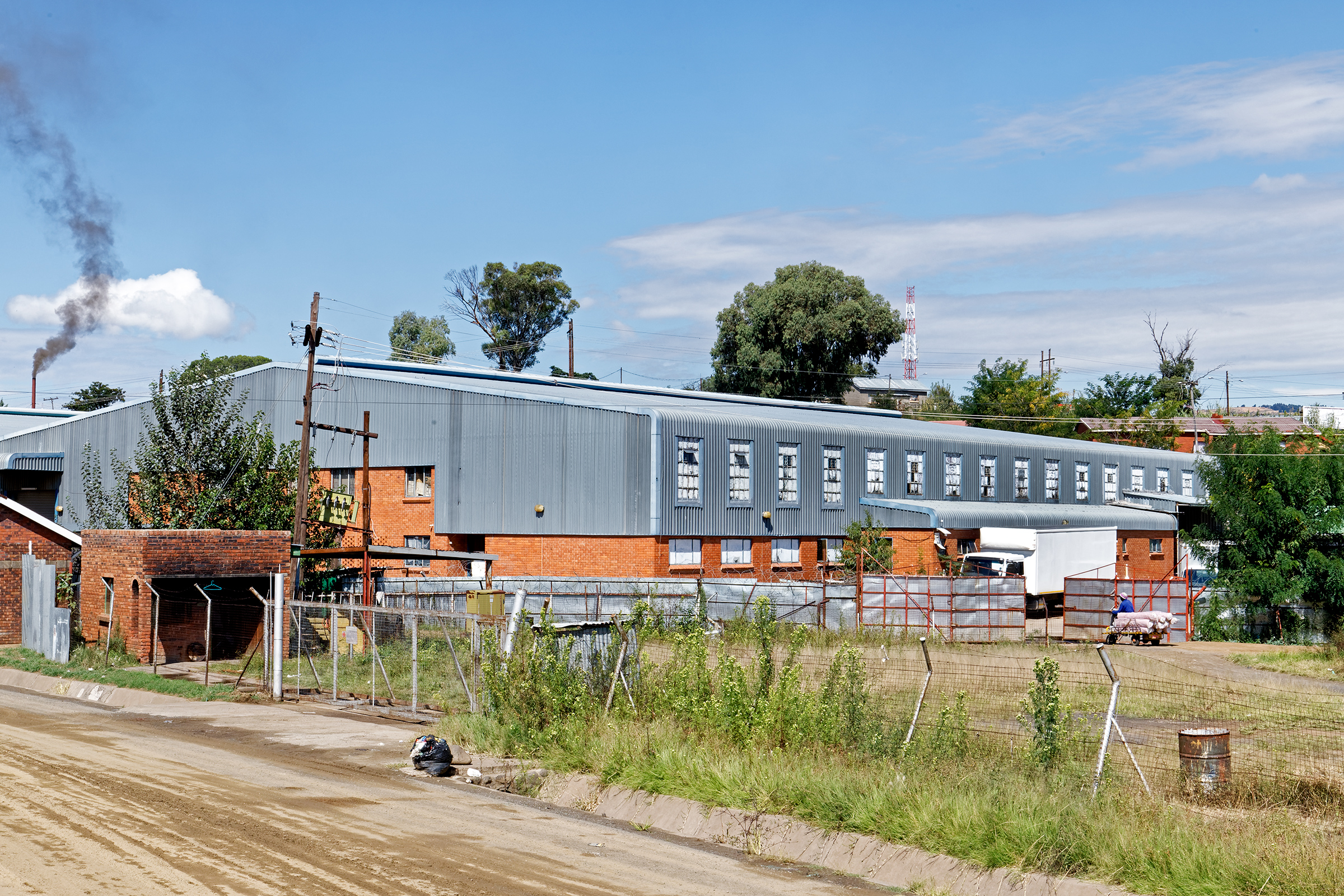Hippo Knitting, a garment factory located in the industrial area Ha Hoohlo Maseru, Lesotho.