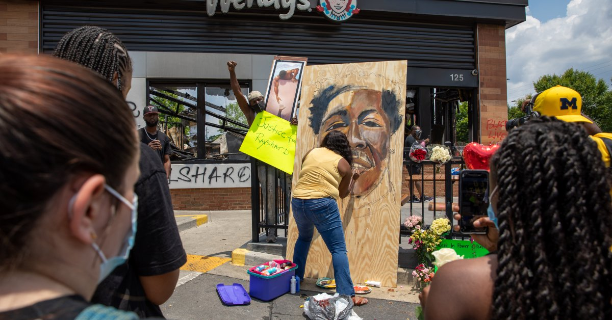 Atlanta Police Officer Who Shot, Killed Rayshard Brooks Has Job Termination Reversed After Appeal