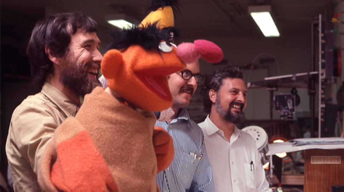 Jim Henson, Frank Oz and Jon Stone