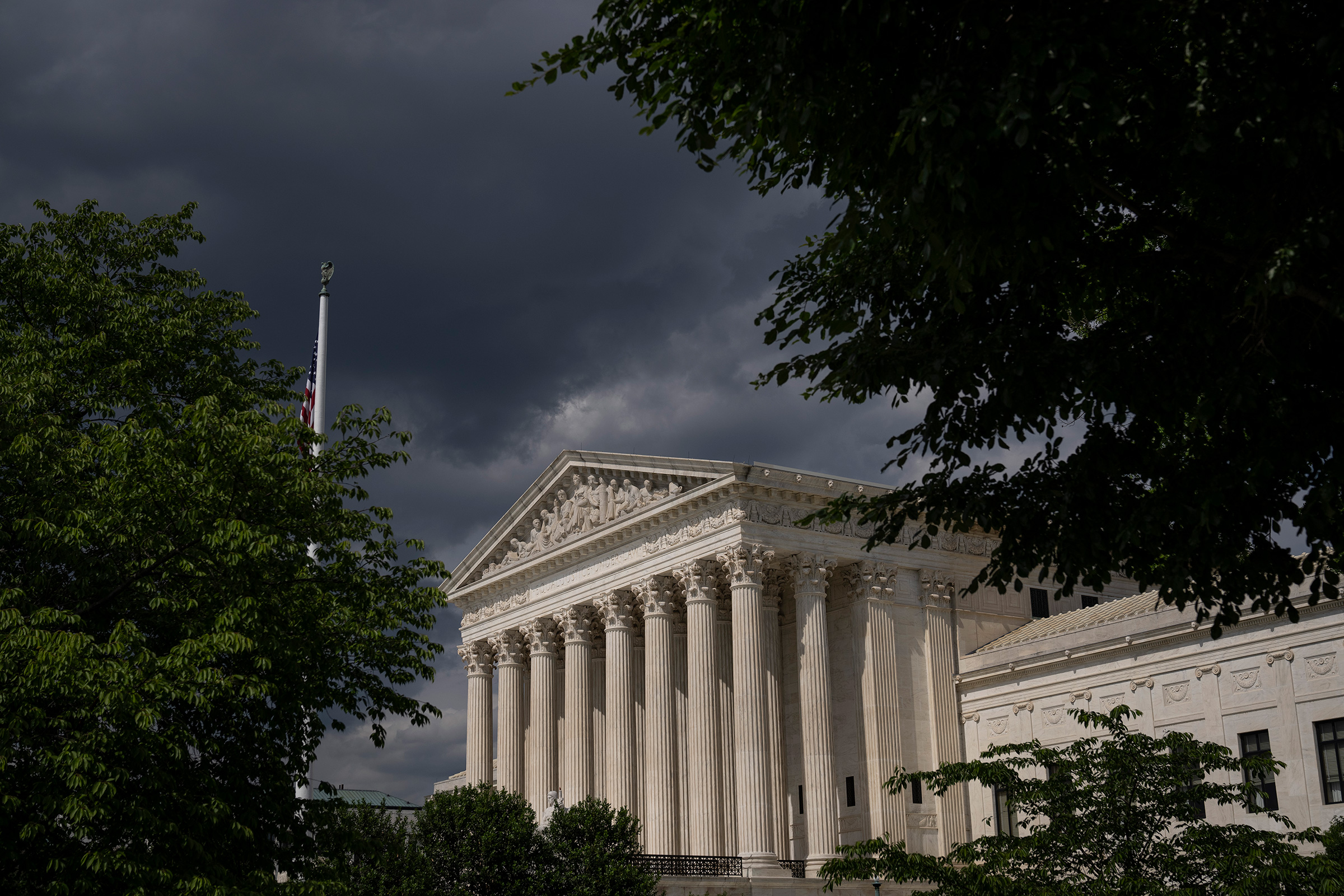 The U.S. Supreme Court building in Washington, D.C., on May 17, 2021.