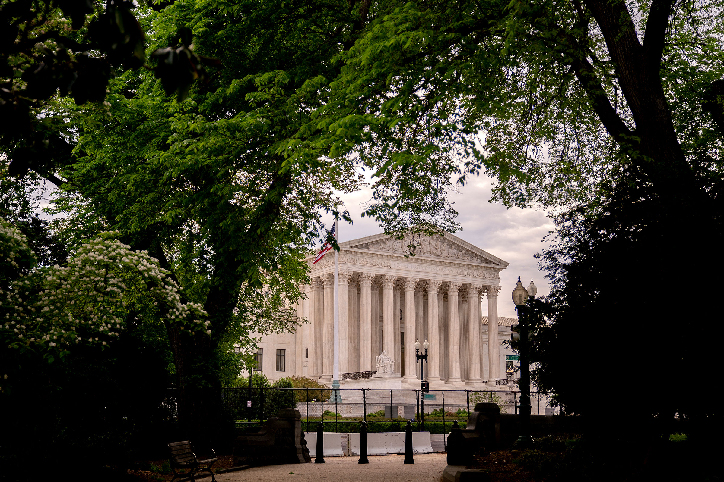 The U.S. Supreme Court on April 29, 2021 in Washington, DC.