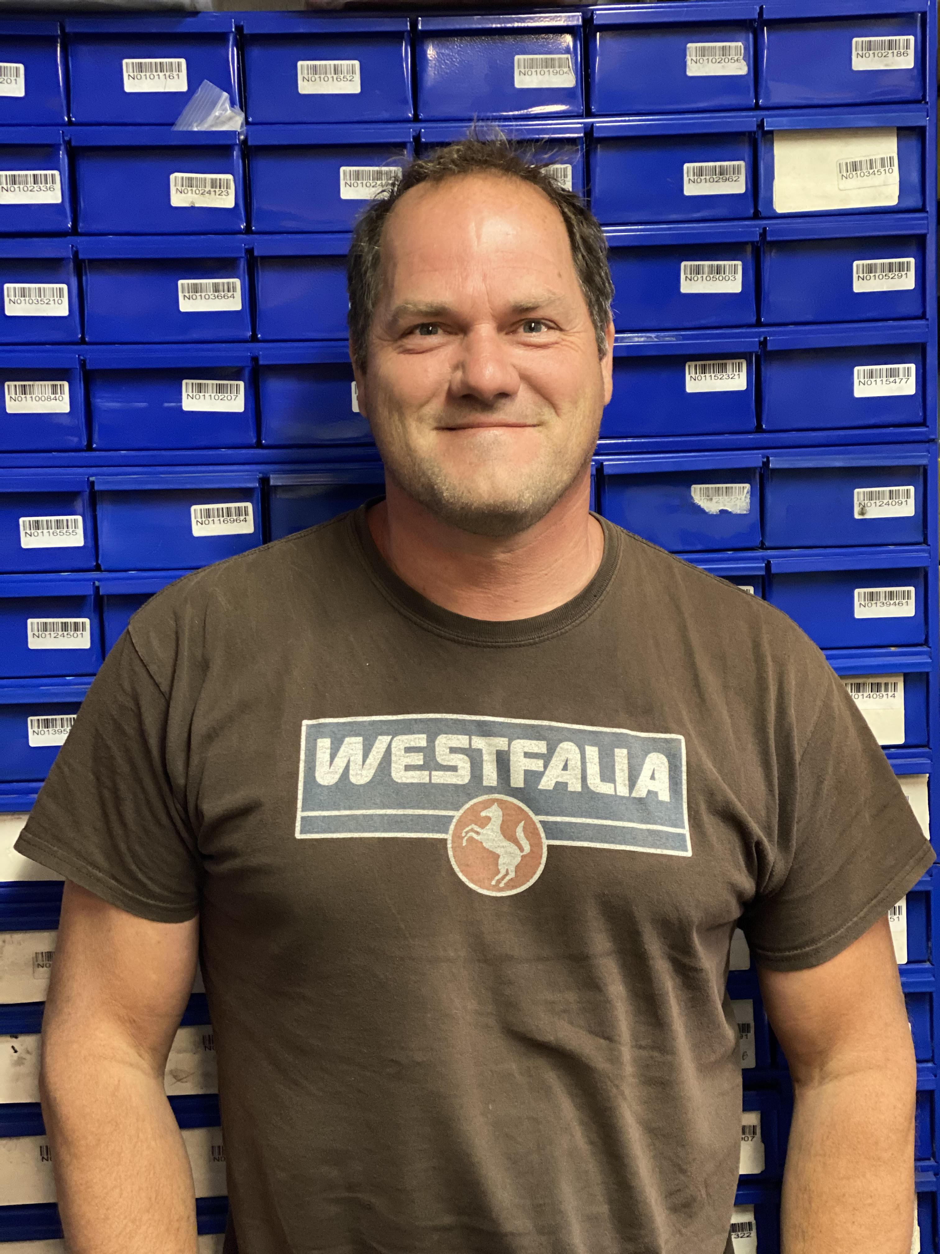 Marco Greywe, co-owner of Buslab