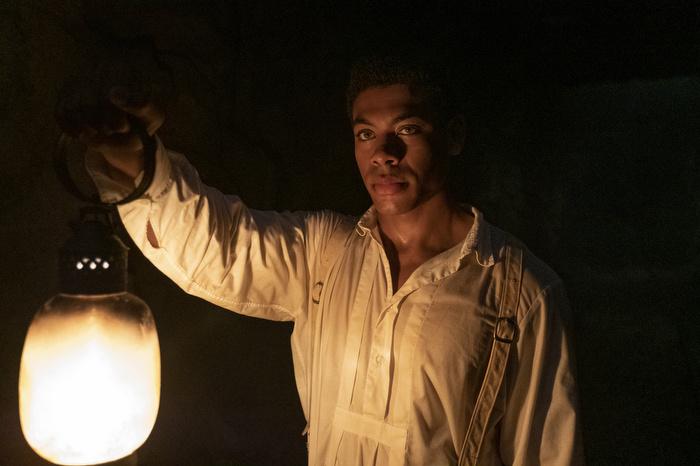 Aaron Pierre in 'The Underground Railroad'