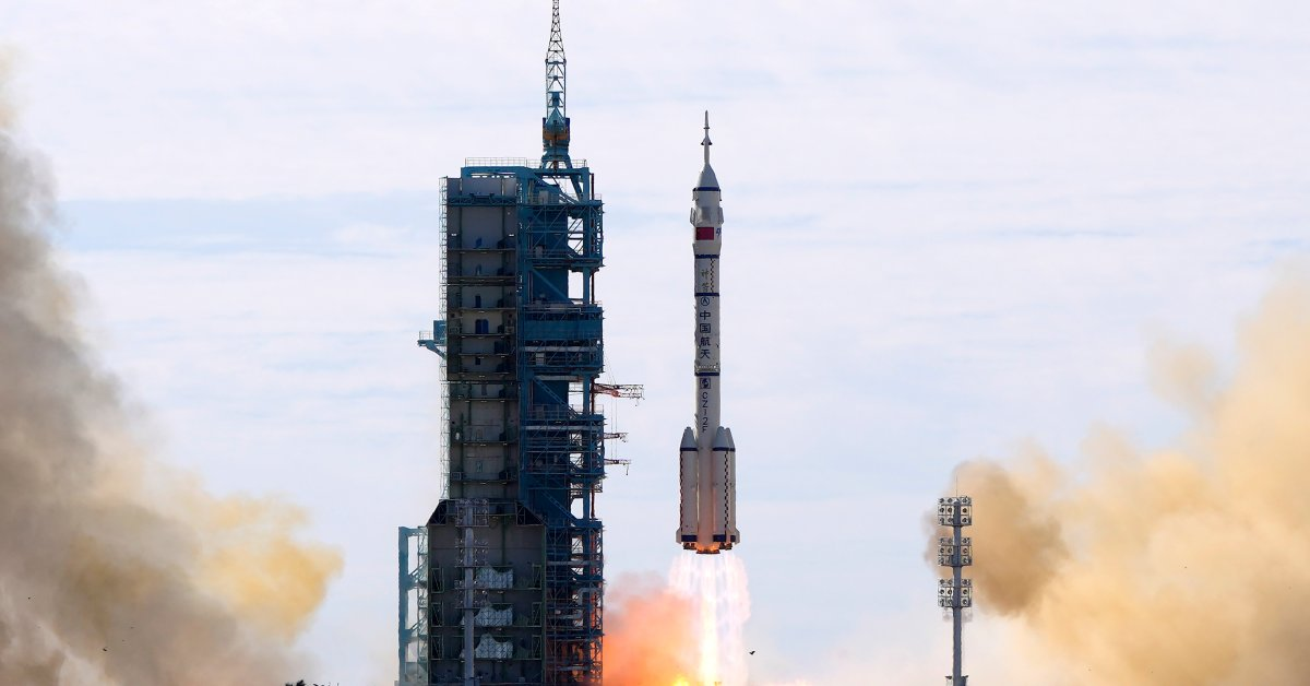 China Launches Its First Crewed Space Mission in Five Years