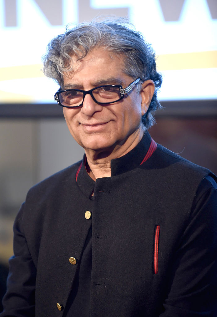 Deepak Chopra attends the Peace Week Town Hall on January 21, 2019 in New York City.