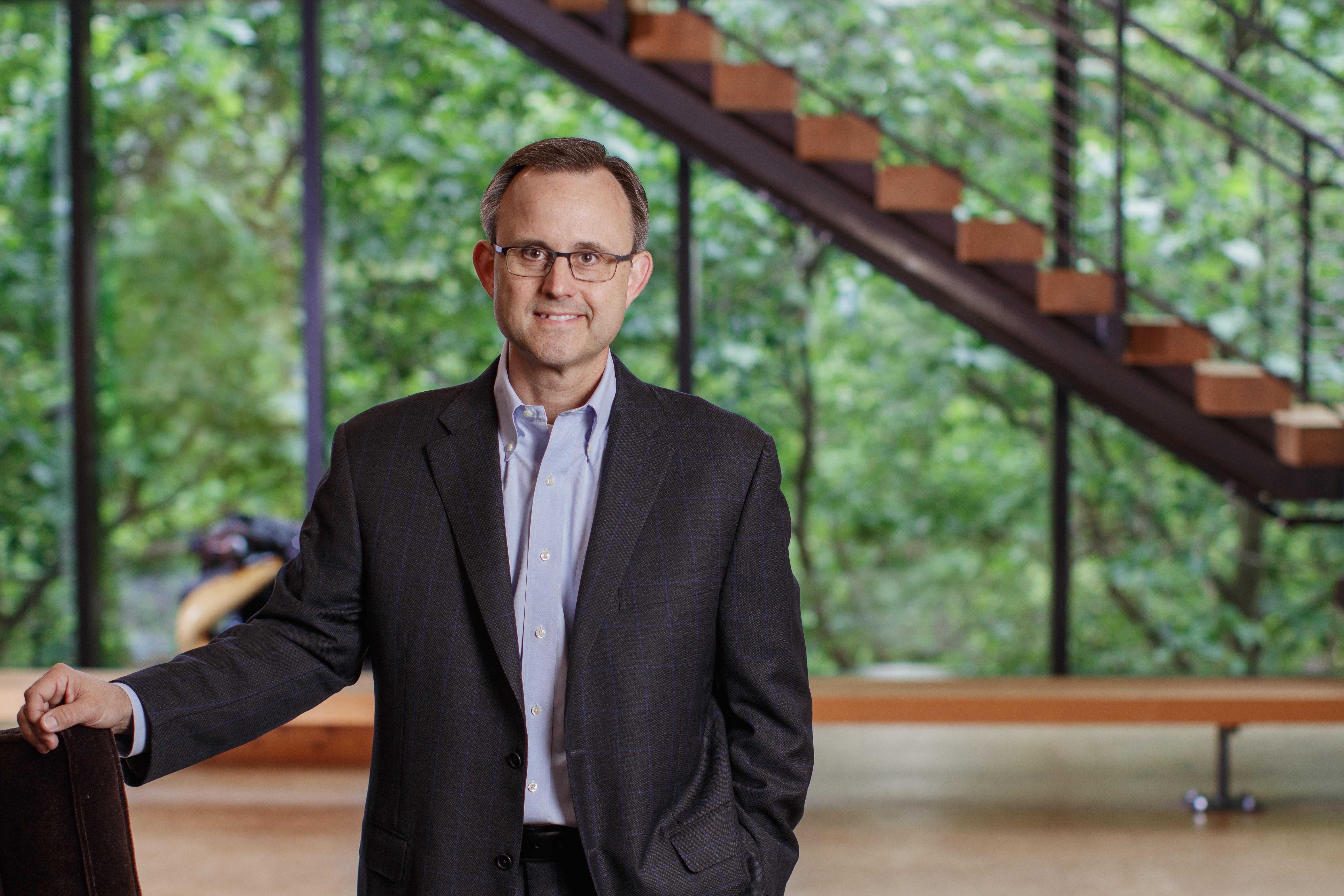 Devin Stockfish. CEO of Weyerhaeuser