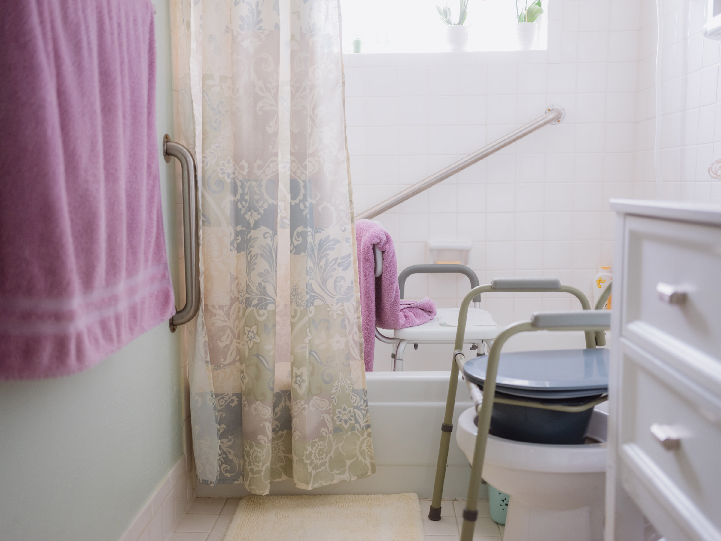 The CAPABLE program provides $1600 for a handy worker, home modifications and assistive devices.