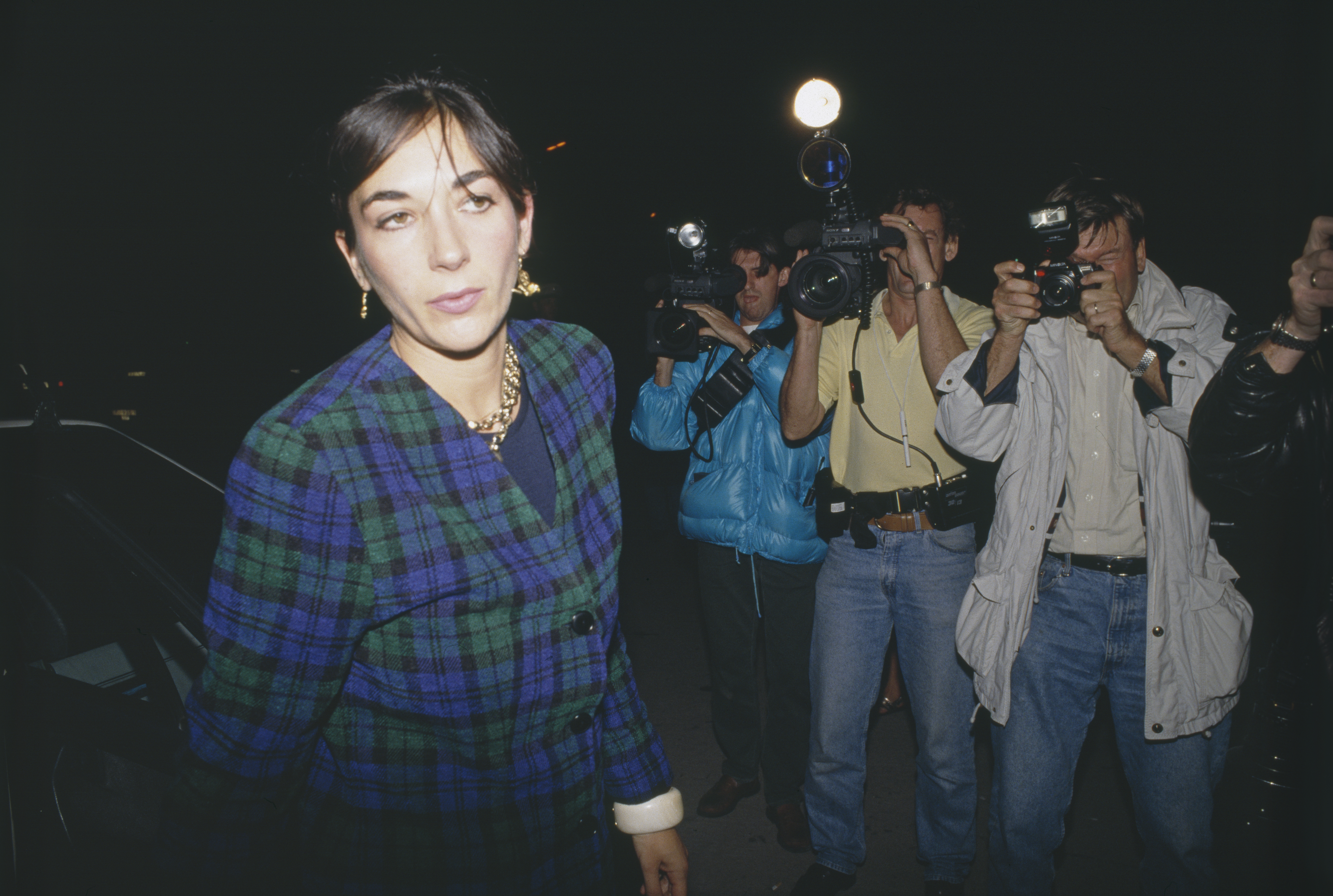 Ghislaine Maxwell pictured in 2000