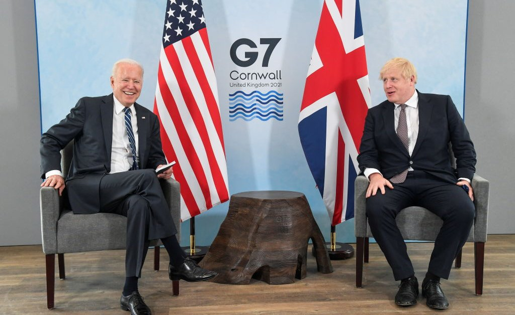 How a Diplomatic Spat Shook up Biden's First Day in the U.K.