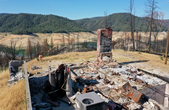 California fires and drought