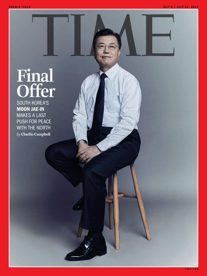Moon Jae-In South Korea International cover