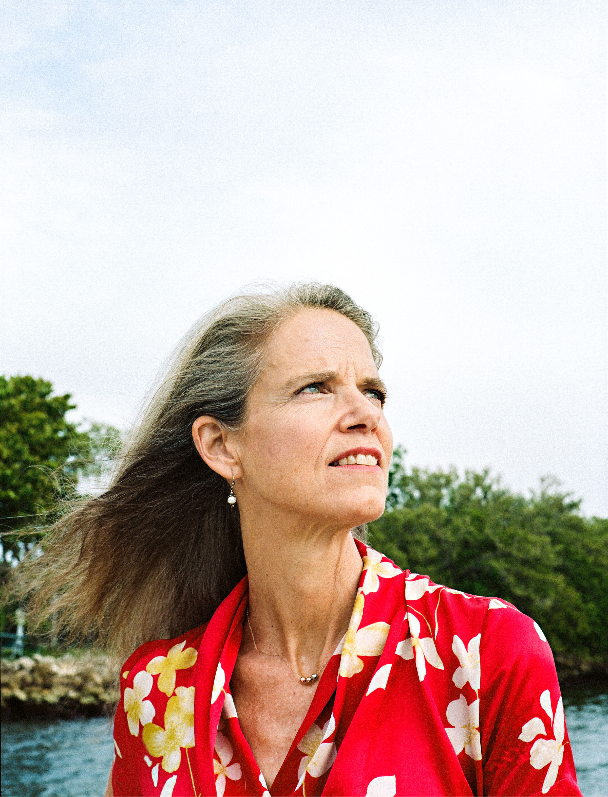 Jane Gilbert, Miami's interim Chief Heat Officer and Resilience Consultant, in the city's Morningside Park on June 18, 2021.