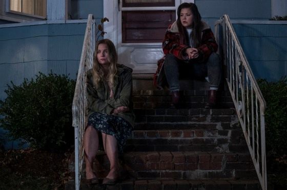 Annie Murphy as Allison, Mary Hollis Inboden as Patty - Kevin Can F*** Himself _ Season 1 - Photo Credit: Jojo Whilden/AMC