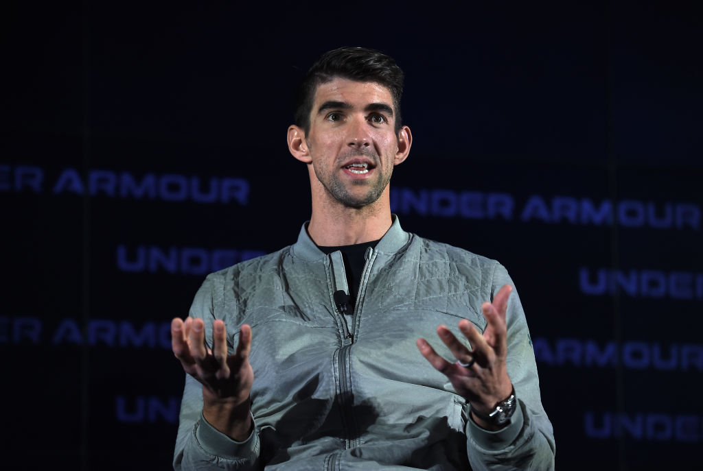 Former U.S. Olympic swimmer Michael Phelps, pictured in in January 2020, has gone public with his struggles and emerged as one of the foremost mental health advocates in sports.
