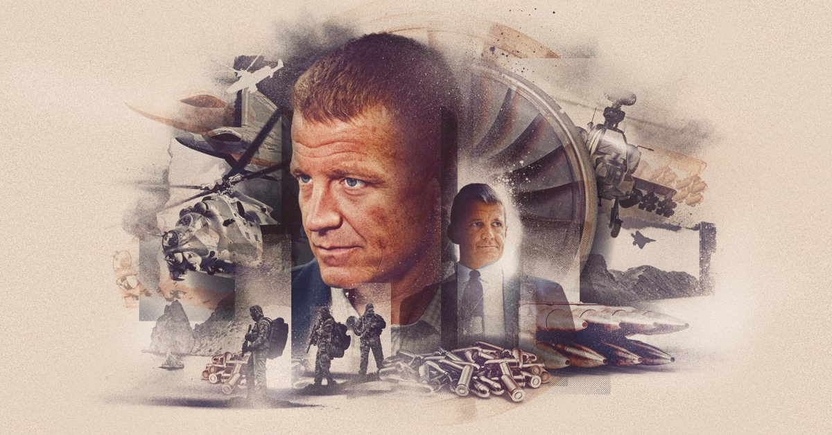 Exclusive: Documents Reveal Erik Prince's $10 Billion Plan to Make Weapons and Create a Private Army in Ukraine