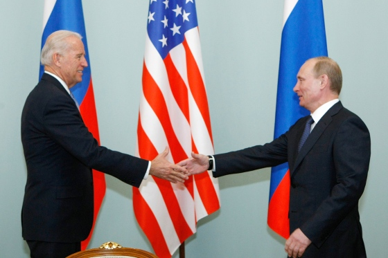 In 2011, then Vice President Joe Biden met Vladimir Putin, Russia's Prime Minister at the time, in Moscow