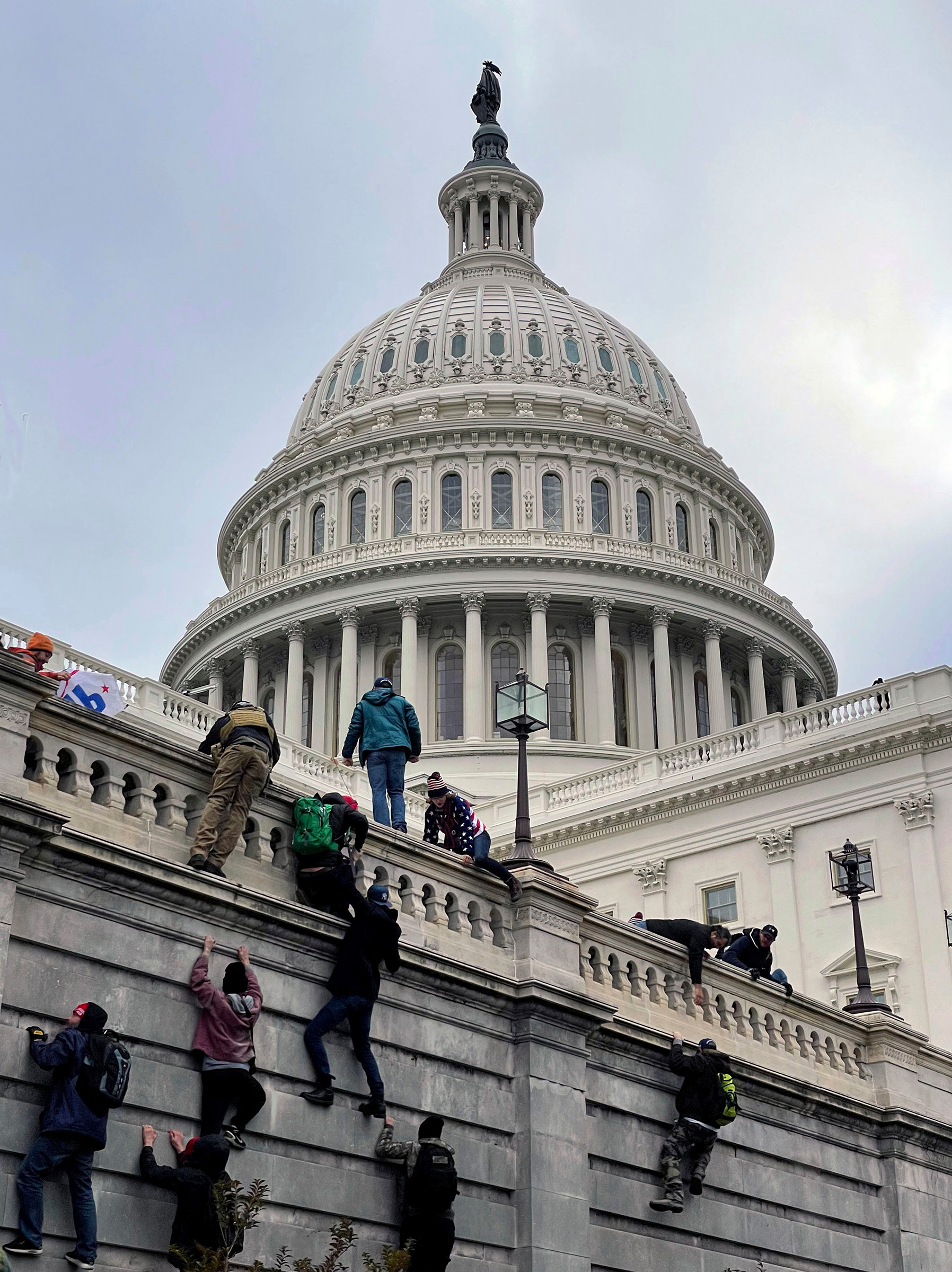 On Jan 6, The United States Capitol Building in Washington, D.C. was breached by thousands of protesters during a  Stop The Steal  rally in support of President Donald Trump during the worldwide coronavirus pandemic.