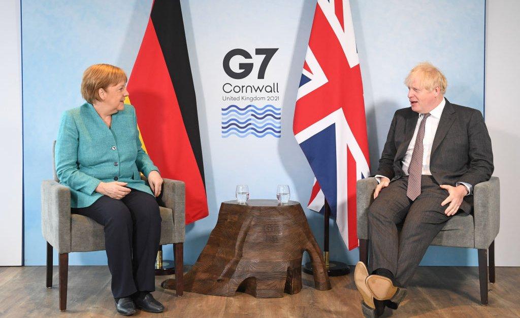 Boris Johnson Inggris Bentrok Dengan UE Soal Irlandia Utara di KTT G7
