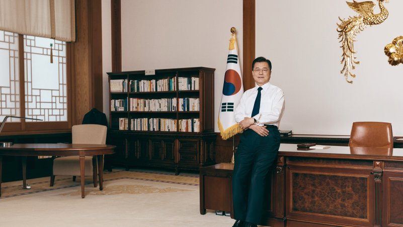 Moon Jae-in's Final Attempt to Heal South Korea