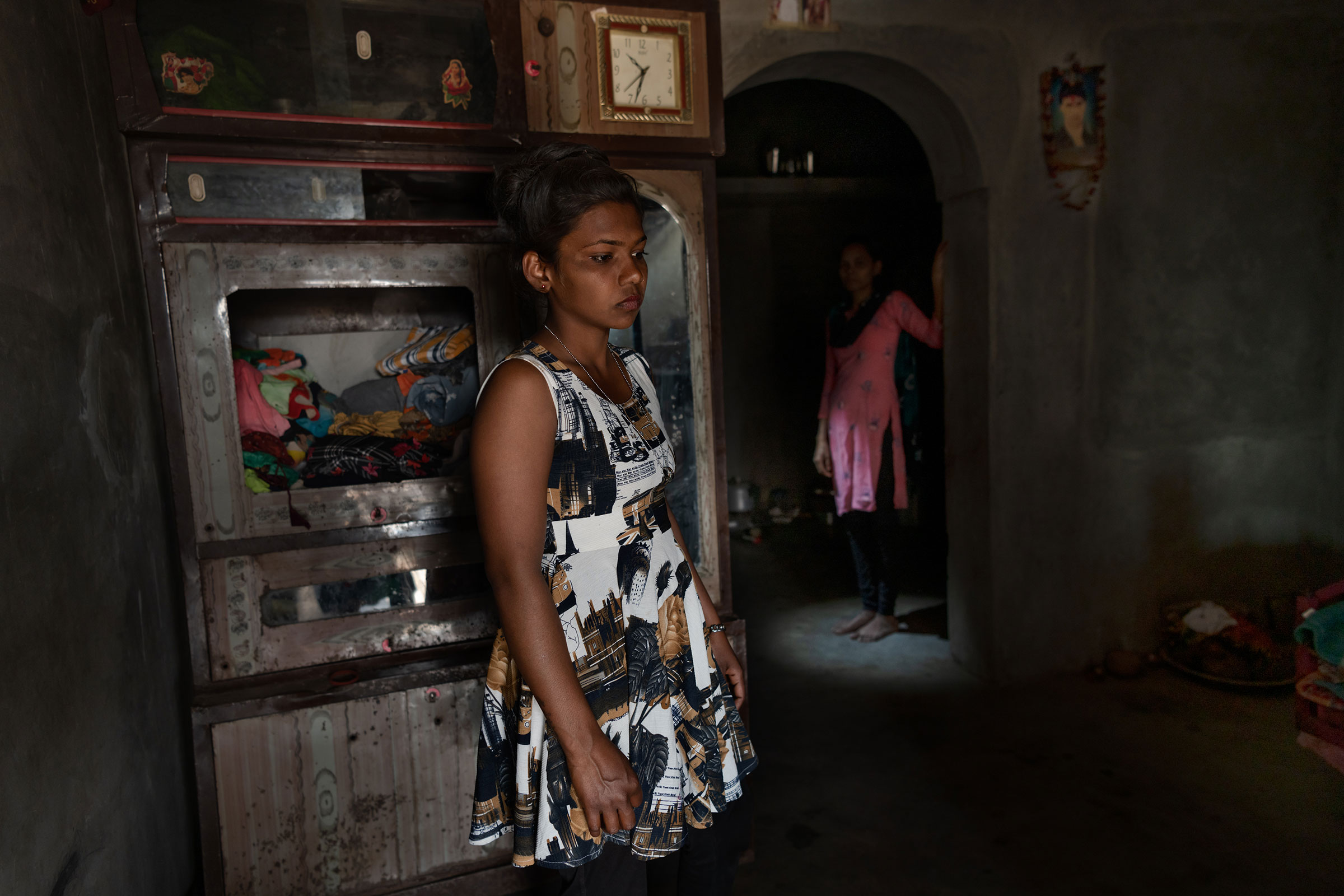 Savitri Vasava, 23, lives in Dakor, Gujarat, and is the mother of a 3-year-old. She plans to become a surrogate after seeing her sister-in-law build a house from the money she made from surrogacy.