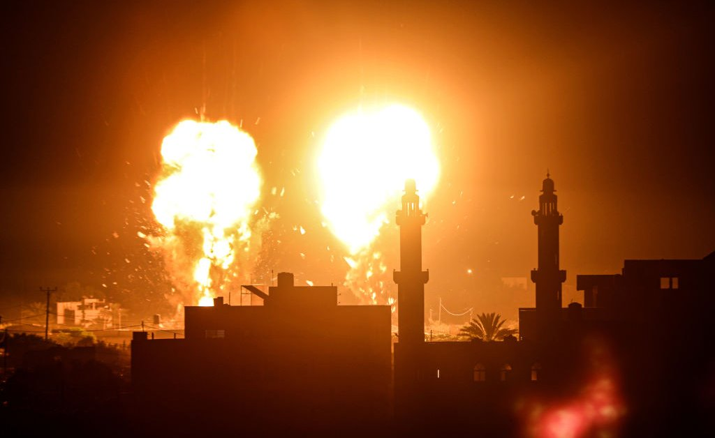 Israeli Airstrikes Target Gaza Sites in the First Attack Since the Cease-Fire