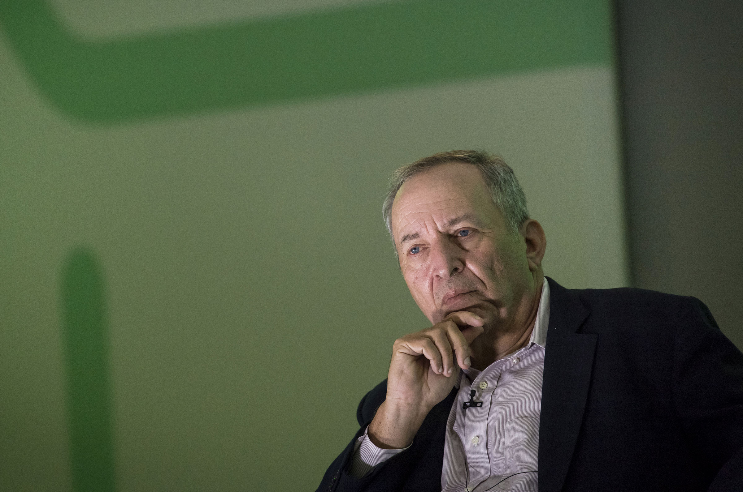 Larry Summers, former U.S. Treasury secretary. Summers is currently He is currently the Charles W. Eliot University Professor at Harvard University and the Weil Director of the Mossavar-Rahmani Center for Business & Government at Harvard's Kennedy School.