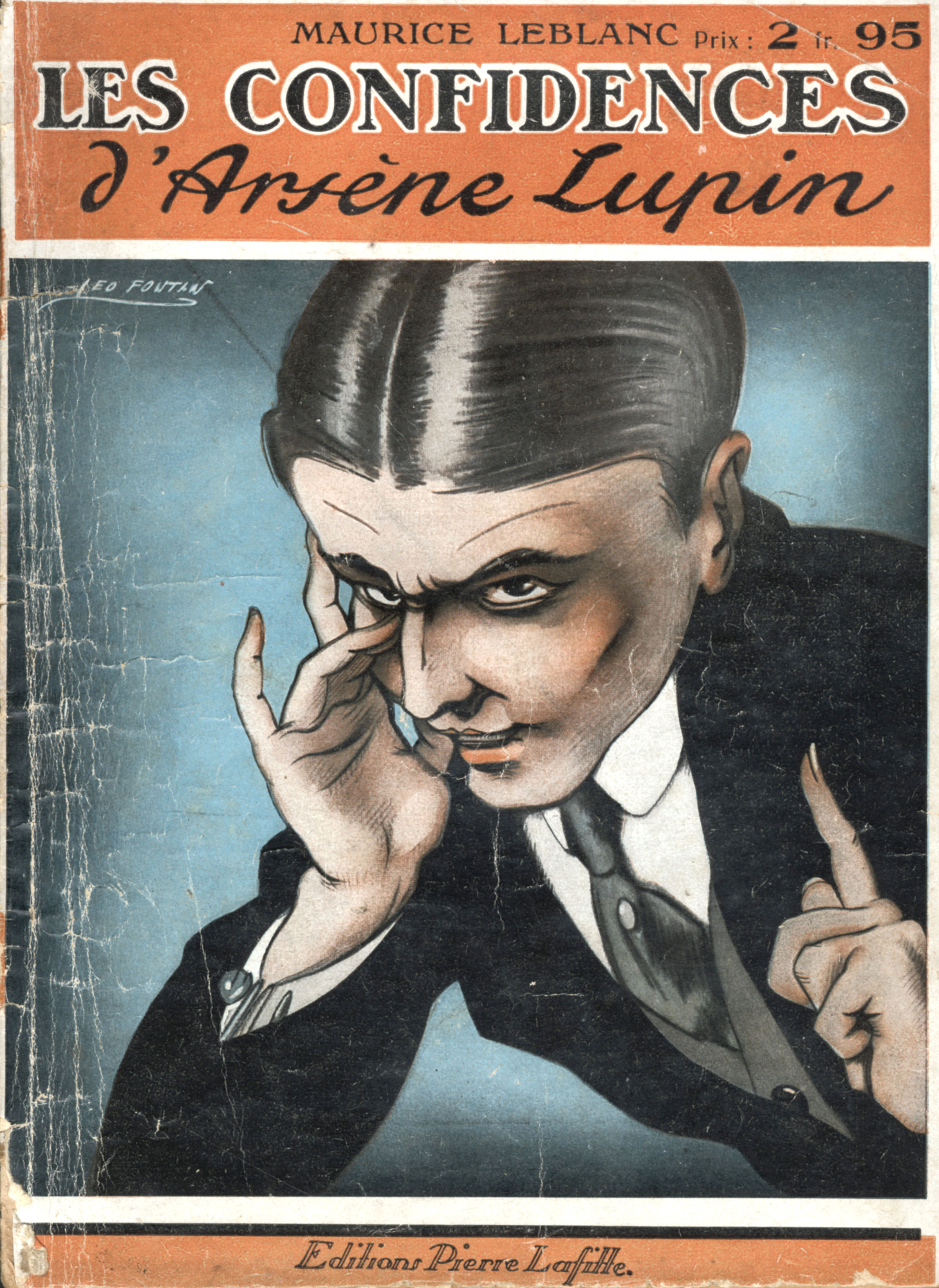One of the many Lupin books written by author Maurice Leblanc