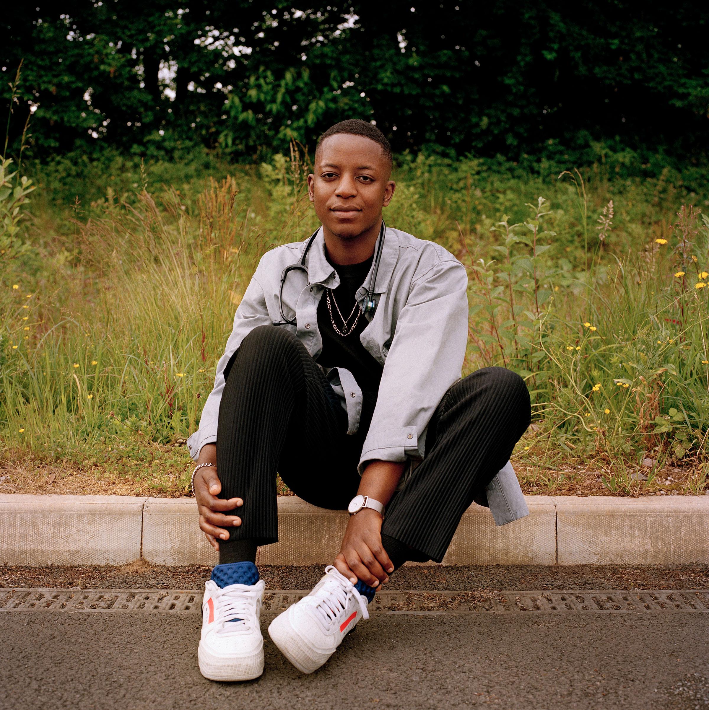 Malone Mukwende in Birmingham, U.K., on June 19, 2021.