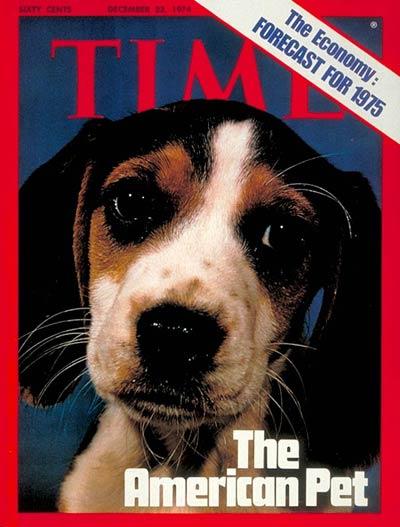 Η 23 Δεκεμβρίου 1974, εξώφυλλο του TIME
