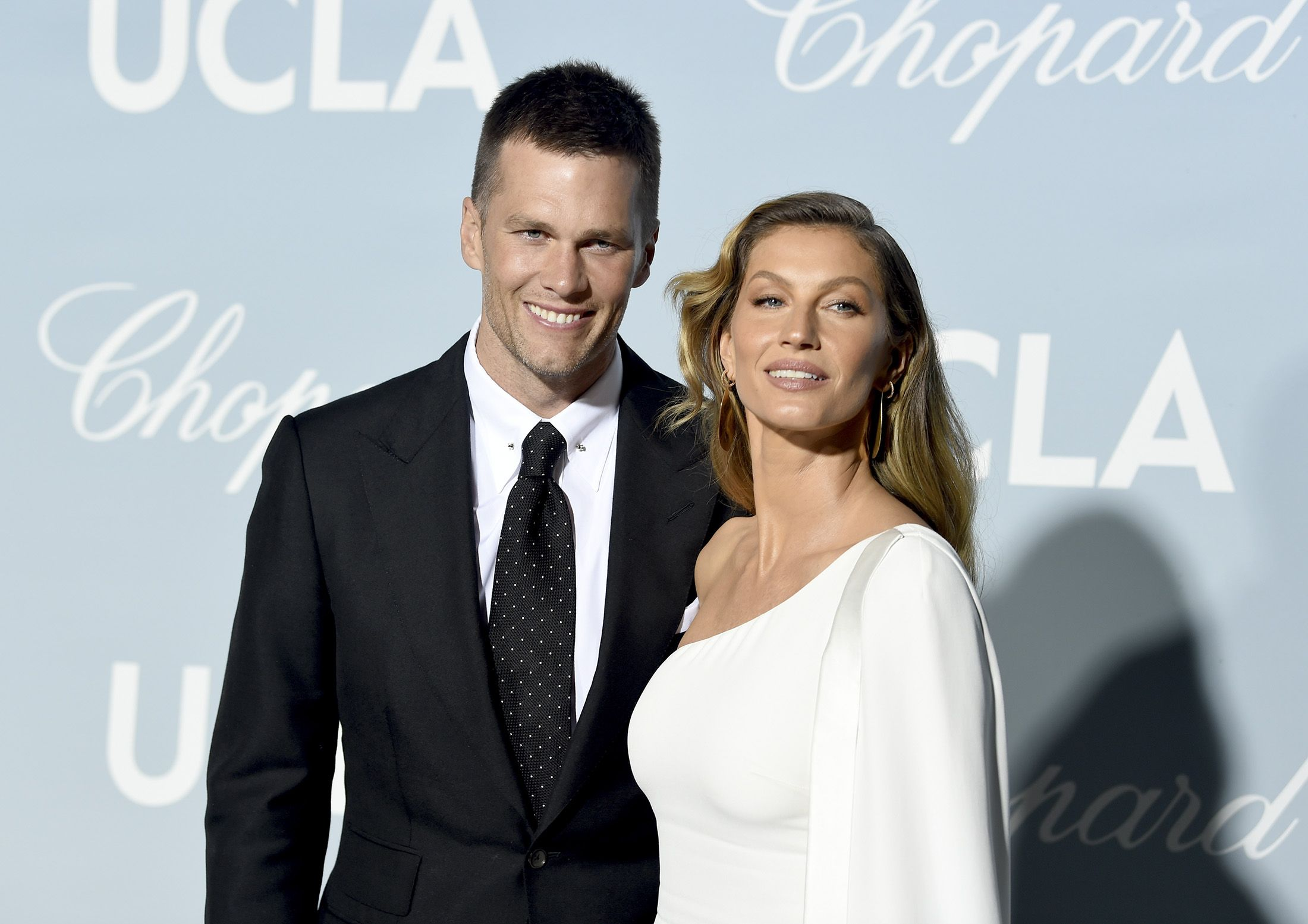 Tom Brady and Gisele Bündchen in 2019 at the Hollywood For Science Gala.