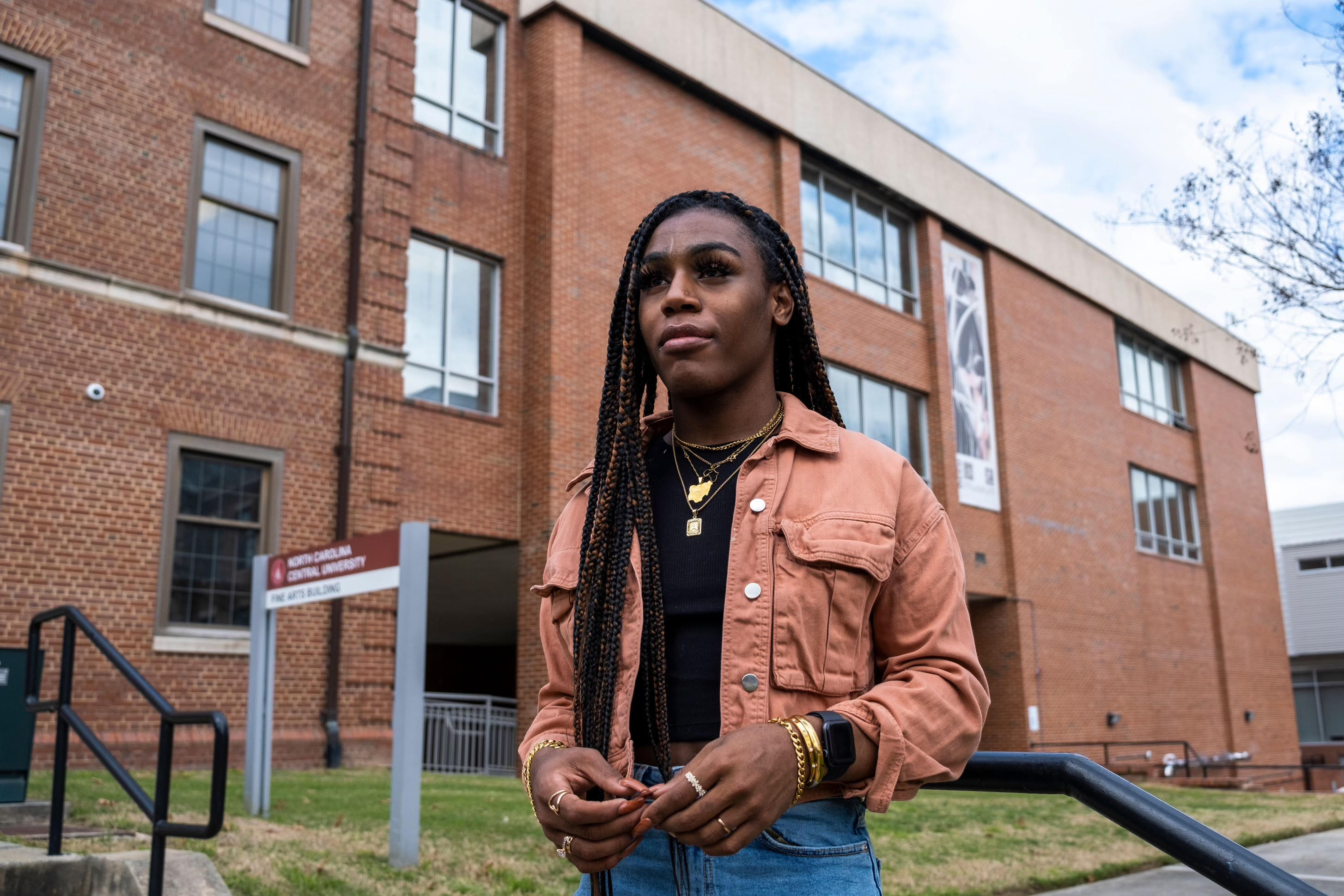 Andraya Yearwood, one of the three trans student athletes featured in Hulu's new documentary Changing The Game
