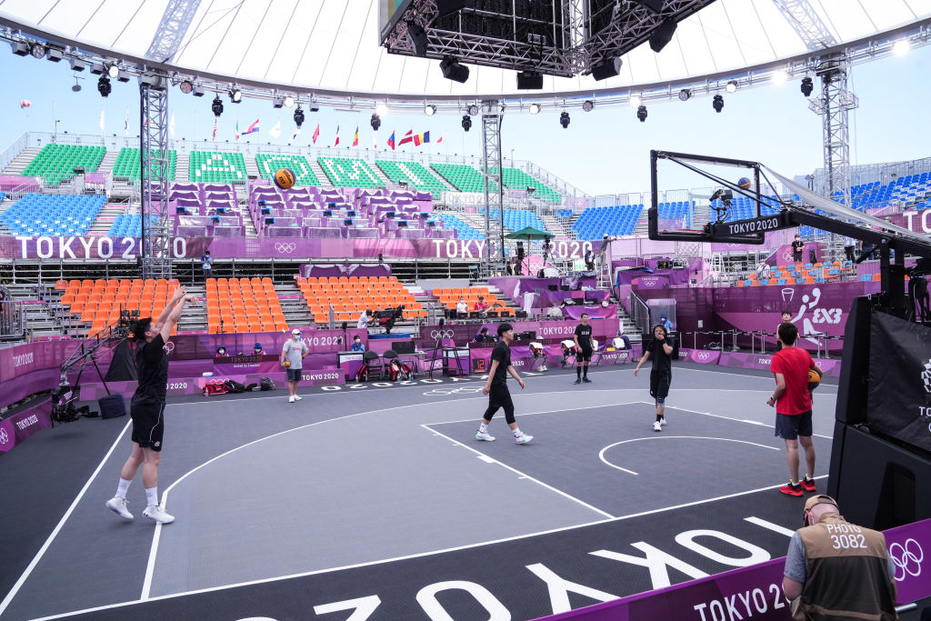 time.com - Sean Gregory/Tokyo - Why Are The Olympics Shrinking Basketball? Here's What To Know About 3x3