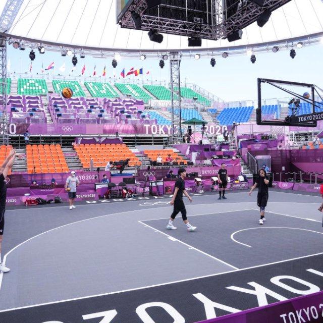 3x3 Basketball Makes Debut At Tokyo Olympics