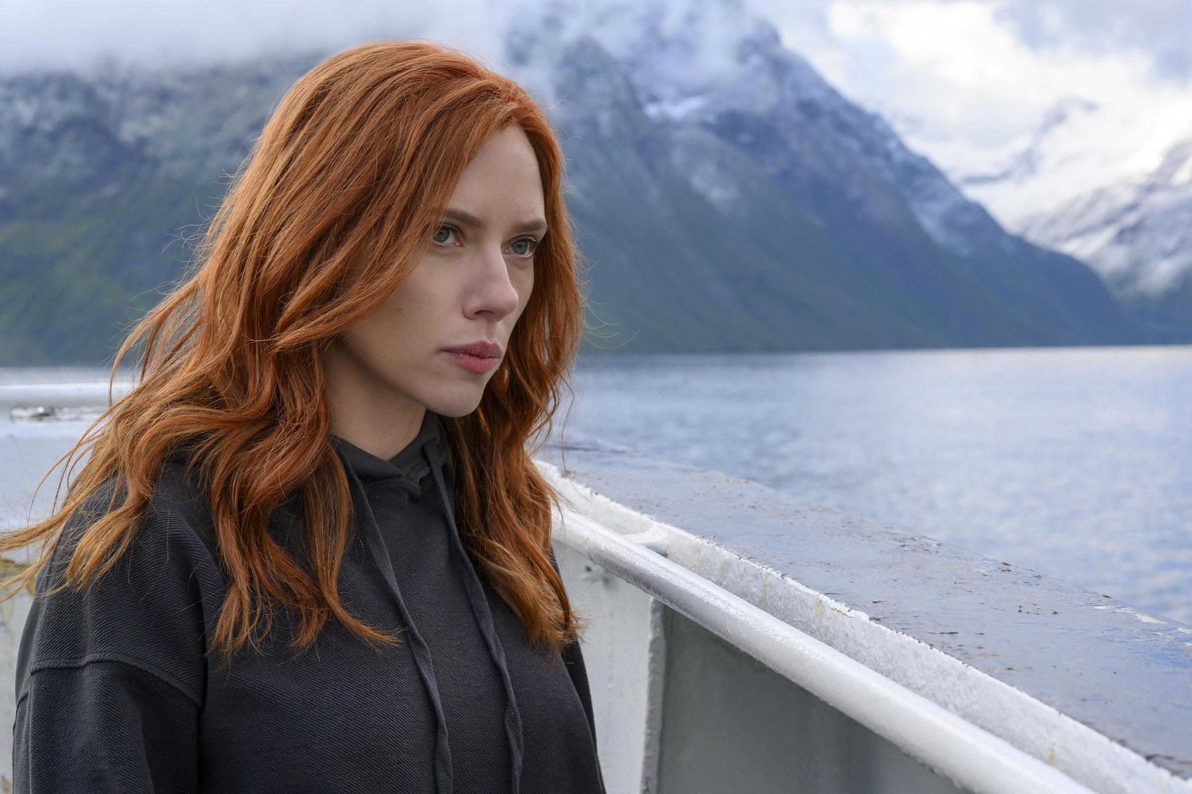 Still from the film Black Widow.