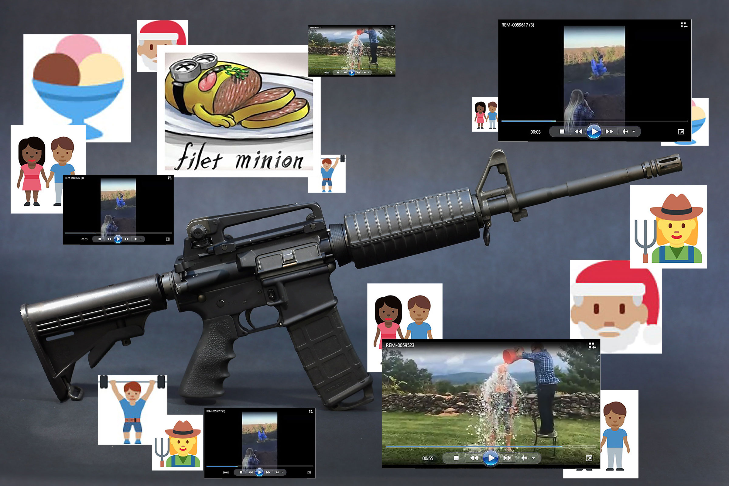 The Bushmaster AR-15 was used during a massacre at an elementary school in Newtown, Connecticut.