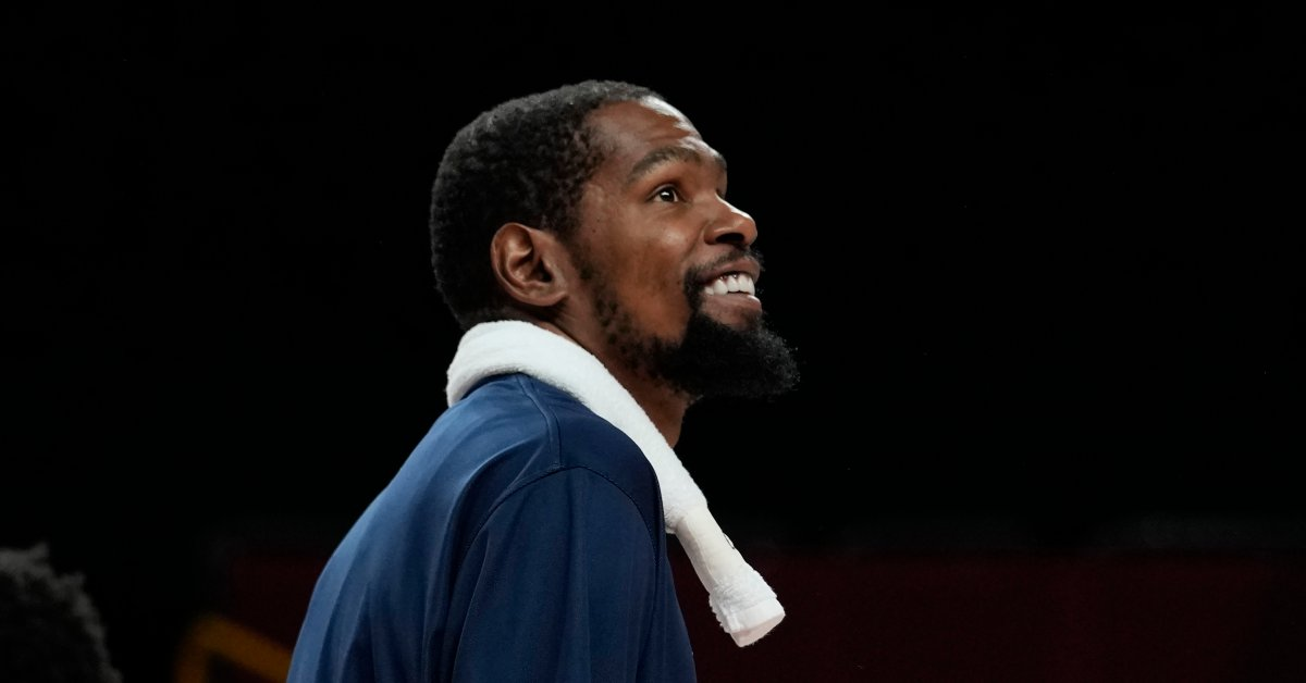 Kevin Durant Becomes Top Scorer in U.S. Men's Olympic History