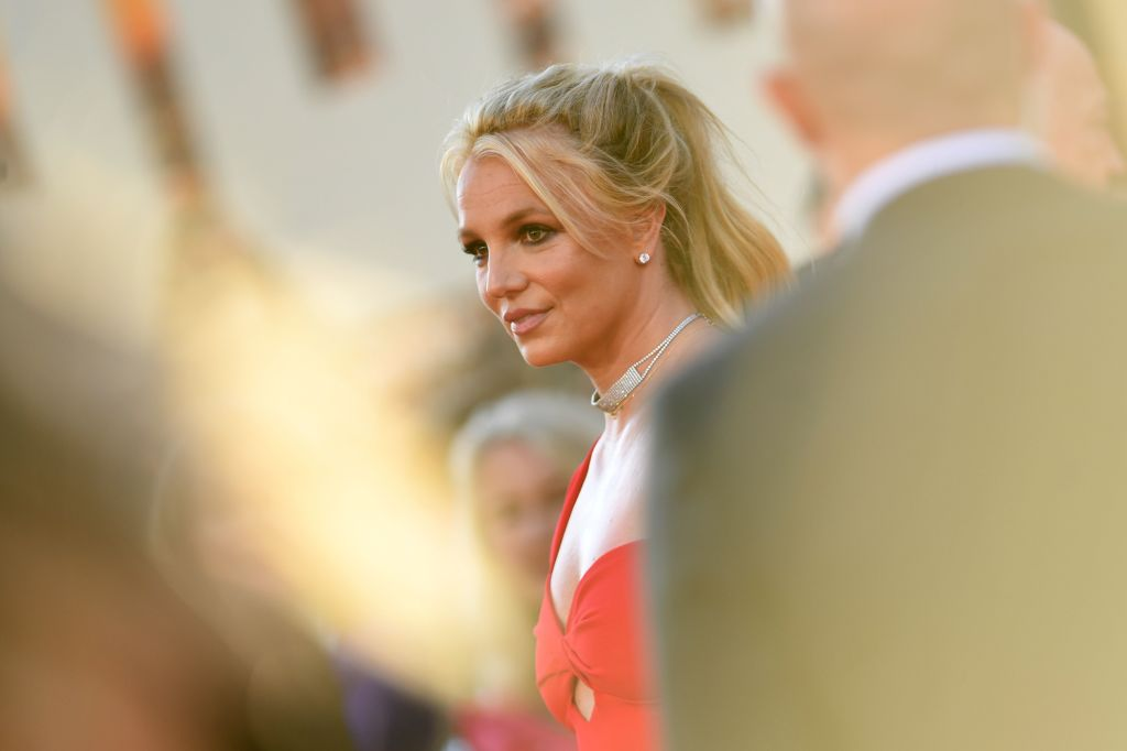 Britney Spears arrives for a film premiere at the TCL Chinese Theatre in Hollywood, Calif. on July 22, 2019.