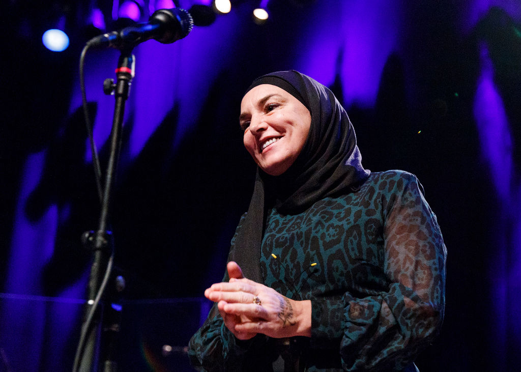 Singer-songwriter Sinead O'Connor performs at Vogue Theatre on February 01, 2020 in Vancouver, Canada.
