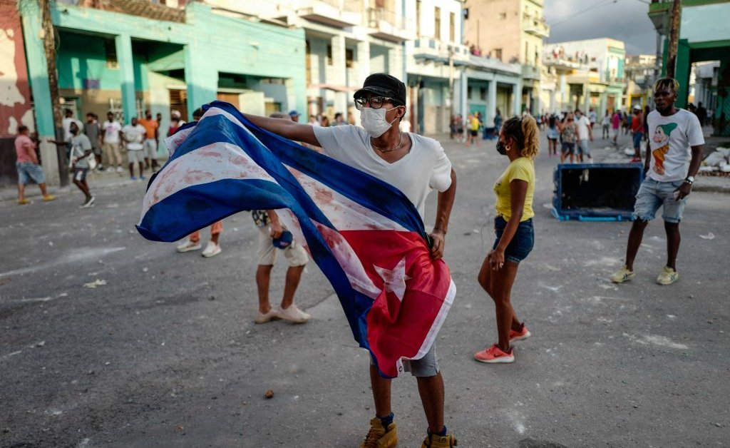 Food Shortages, COVID-19, and Instagram: The Driving Forces Behind the Cuba Protests