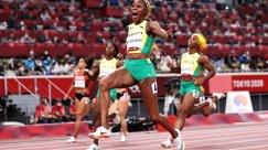 Elaine Thompson-Herah Breaks 100-m Olympic Record