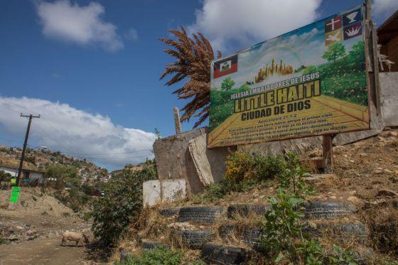 Haitan Migrants In Mexico