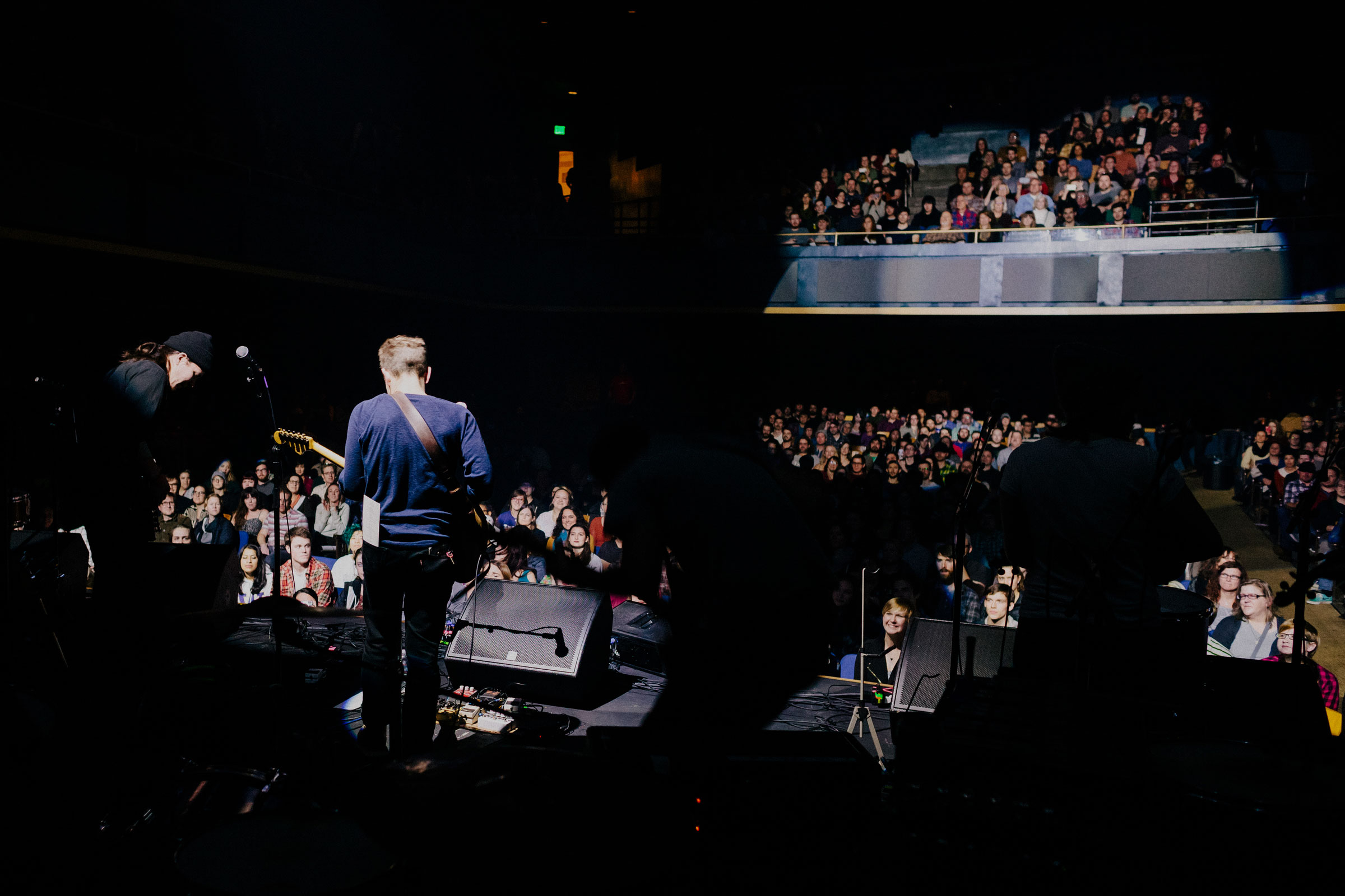 Typhoon plays at Revolution Hall in Portland, Oregon, 2019.