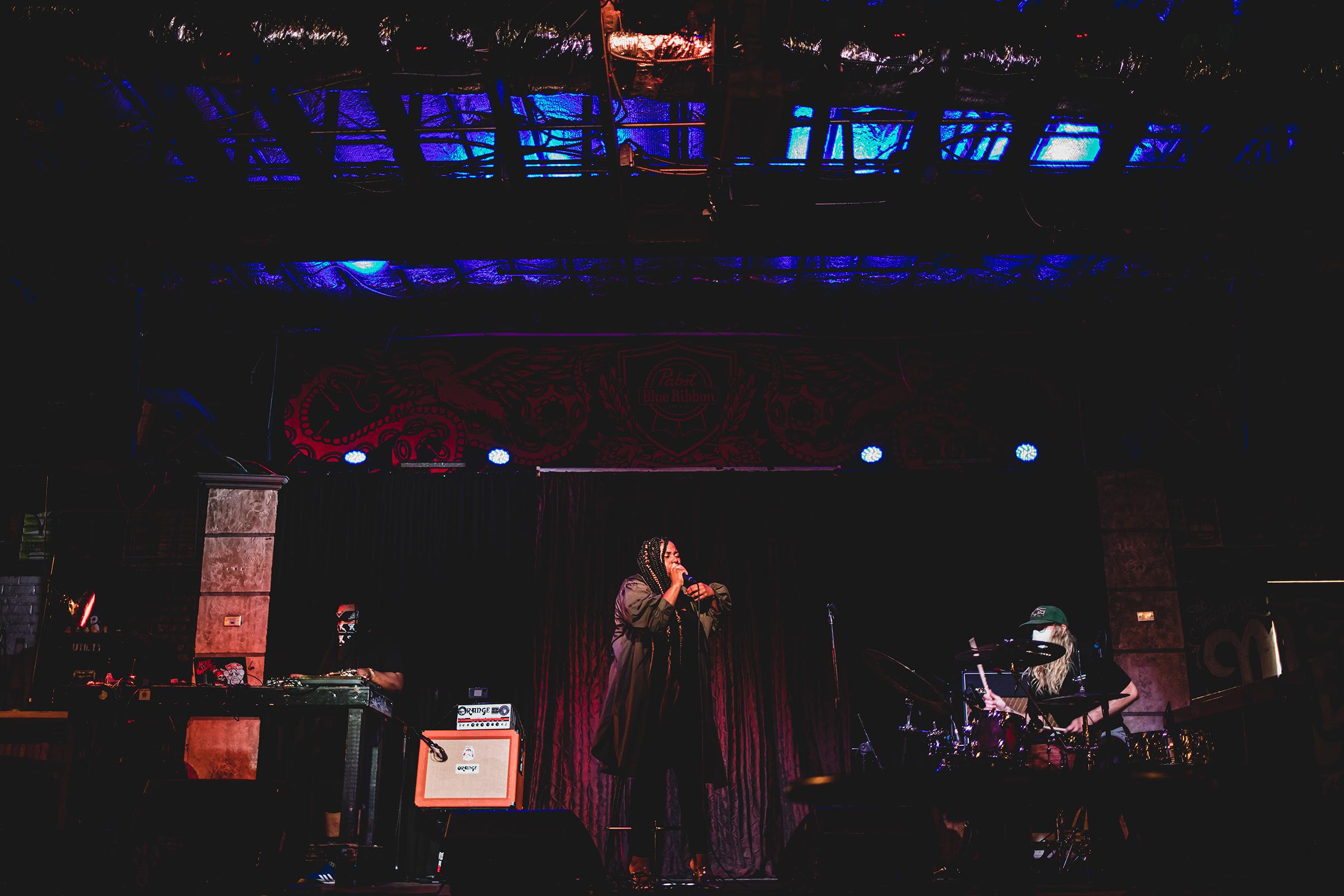 A performance at Crowbar in Tampa, Florida, 2020.