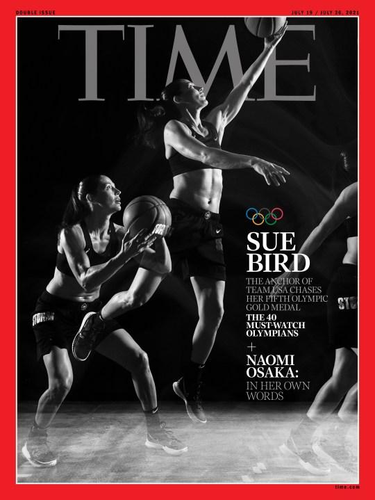 Sue Bird Olympics Time Magazine cover