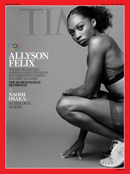 Allyson Felix Olympics Time Magazine cover