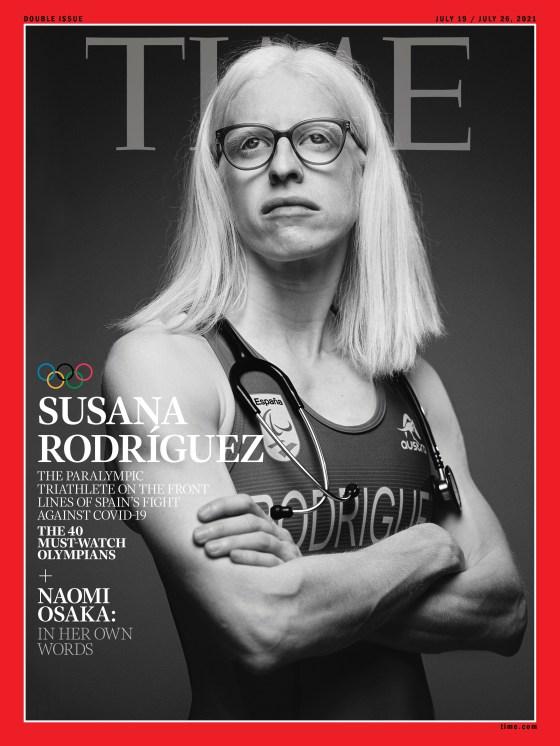 Susana Rodriguez Olympics Time Magazine cover