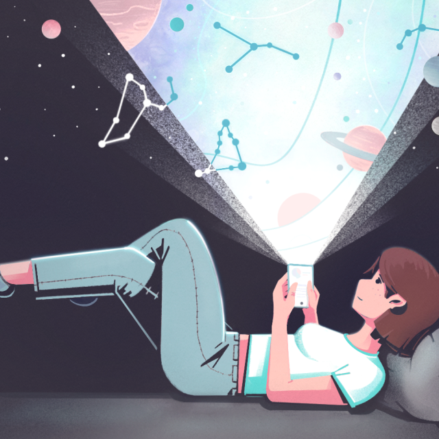 How Tech-Boosted Astrology Apps Are Filling a Void